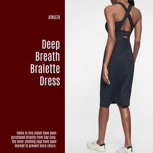 84c12bef44e50 Athleta Dresses - NWT Deep Breath Bralette Dress (I45)